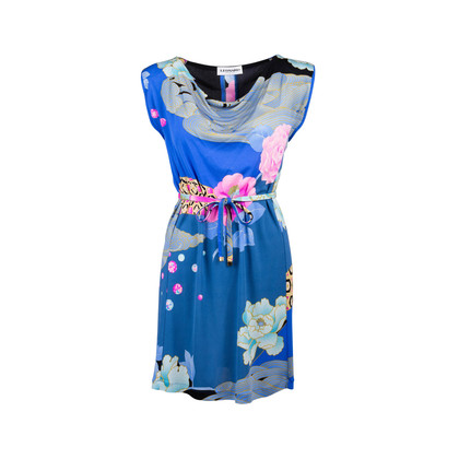 Authentic Second Hand Leonard Belted Mini Dress (PSS-097-00482)