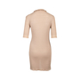 Authentic Second Hand Chanel Ruffled Button Down Dress (PSS-097-00483) - Thumbnail 1