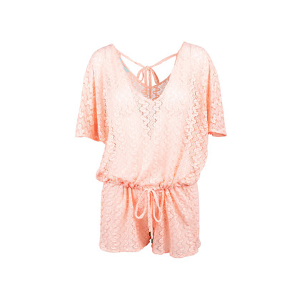 Authentic Second Hand Melissa Odabash Cover Up Romper (PSS-097-00491)