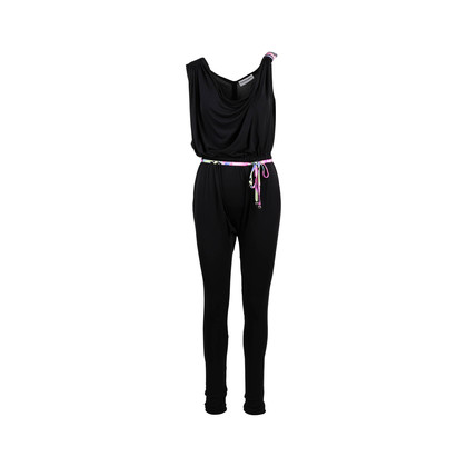 Authentic Second Hand Leonard Asymmetrical Belted Jumpsuit (PSS-097-00493)