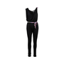 Authentic Second Hand Leonard Asymmetrical Belted Jumpsuit (PSS-097-00493) - Thumbnail 0