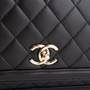 Authentic Second Hand Chanel Quilted Accordion Flap Bag (PSS-831-00003) - Thumbnail 5
