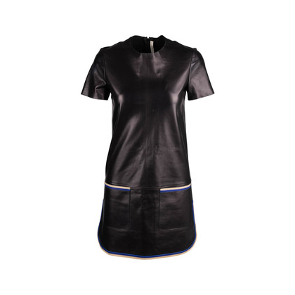 Authentic Second Hand Céline Lambskin Shift Dress (PSS-074-00193)