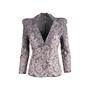 Authentic Second Hand Alexander McQueen Lace Appliqué Jacket (PSS-074-00196) - Thumbnail 0