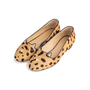 Authentic Second Hand Charlotte Olympia Kitty Leopard Print Flats (PSS-840-00001) - Thumbnail 1