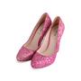 Authentic Second Hand Miu Miu Pink Glitter Pumps (PSS-840-00002) - Thumbnail 1