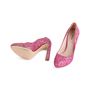 Authentic Second Hand Miu Miu Pink Glitter Pumps (PSS-840-00002) - Thumbnail 4