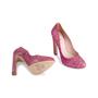 Authentic Second Hand Miu Miu Pink Glitter Pumps (PSS-840-00002) - Thumbnail 5