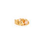Authentic Second Hand Alexander McQueen Topaz Double Skeleton Ring (PSS-304-00105) - Thumbnail 1