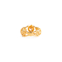 Authentic Second Hand Alexander McQueen Topaz Double Skeleton Ring (PSS-304-00105) - Thumbnail 3
