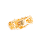 Authentic Second Hand Alexander McQueen Topaz Double Skeleton Ring (PSS-304-00105) - Thumbnail 10