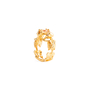 Authentic Second Hand Alexander McQueen Topaz Double Skeleton Ring (PSS-304-00105) - Thumbnail 8