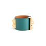 Authentic Second Hand Hermès Malachite Collier de Chien Bracelet (PSS-304-00108) - Thumbnail 2