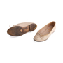 Authentic Second Hand Chanel Leather Ballerina Flats (PSS-304-00121) - Thumbnail 4
