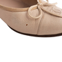 Authentic Second Hand Chanel Leather Ballerina Flats (PSS-304-00121) - Thumbnail 6