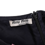 Authentic Second Hand Miu Miu Swallow Print Cut-Out Top (PSS-841-00012) - Thumbnail 4