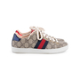 Authentic Second Hand Gucci New Ace GG Supreme Sneakers  (PSS-080-00293) - Thumbnail 2