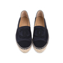 Authentic Second Hand Chanel Satin Espadrilles (PSS-080-00294) - Thumbnail 0