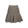 Authentic Second Hand Chanel Knit Flare Skirt (PSS-080-00300) - Thumbnail 1