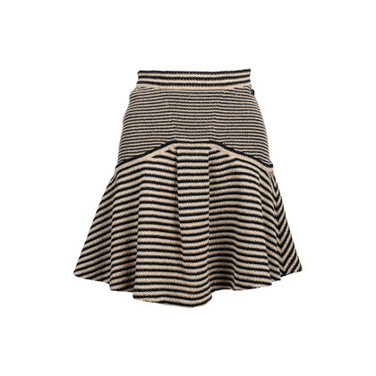 Authentic Second Hand Chanel Knit Flare Skirt (PSS-080-00300)