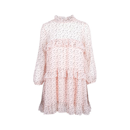 Authentic Second Hand Cynthia Rowley Delphine Ruffle Dress (PSS-080-00299)