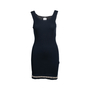 Authentic Second Hand Chanel Stretch Ribbed Dress (PSS-080-00309) - Thumbnail 0