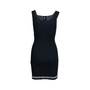 Authentic Second Hand Chanel Stretch Ribbed Dress (PSS-080-00309) - Thumbnail 1