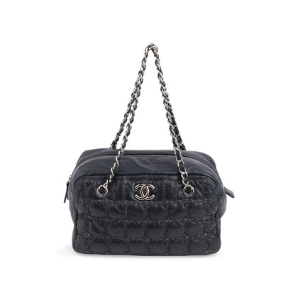 Authentic Second Hand Chanel Square Quilt Bag (PSS-800-00008)
