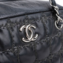 Authentic Second Hand Chanel Square Quilt Bag (PSS-800-00008) - Thumbnail 4