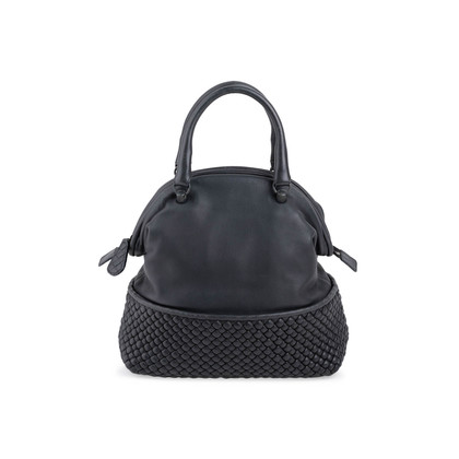 Authentic Second Hand Bottega Veneta Black Frame Weave Bag (PSS-811-00003)