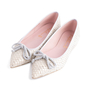 Authentic Second Hand Pretty Ballerinas Python Embossed Flats (PSS-850-00001) - Thumbnail 2