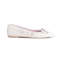 Authentic Second Hand Pretty Ballerinas Python Embossed Flats (PSS-850-00001) - Thumbnail 1