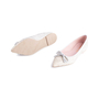 Authentic Second Hand Pretty Ballerinas Python Embossed Flats (PSS-850-00001) - Thumbnail 4