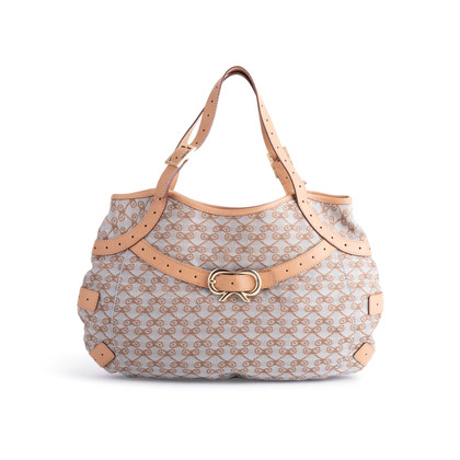 Authentic Second Hand Anya Hindmarch Monogram Canvas Bag (PSS-850-00005)