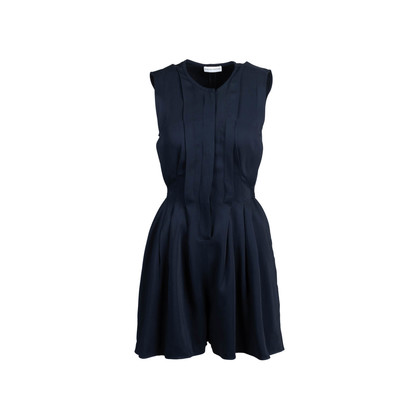 Authentic Second Hand Scanlan Theodore Sleeveless button-down Romper (PSS-143-00146)