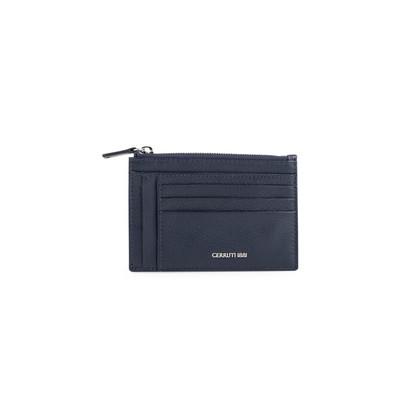 Authentic Second Hand Cerruti 1881 Cardholder with Coin Purse (PSS-852-00006)