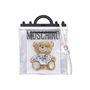 Authentic Second Hand Moschino Transparent Teddy Print Tote (PSS-435-00019) - Thumbnail 0