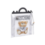 Authentic Second Hand Moschino Transparent Teddy Print Tote (PSS-435-00019) - Thumbnail 1