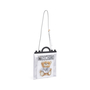 Authentic Second Hand Moschino Transparent Teddy Print Tote (PSS-435-00019) - Thumbnail 4