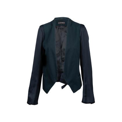 Authentic Second Hand Ann Demeulemeester Colourblock Jacket (PSS-435-00035)