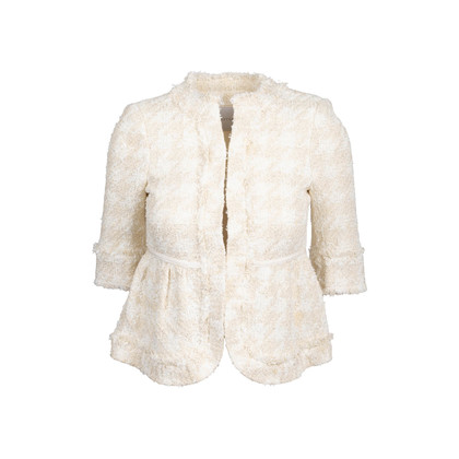 Authentic Second Hand Anteprima Metallic Tweed Jacket (PSS-856-00085)