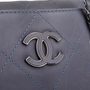 Authentic Second Hand Chanel 2011 Hamptons Shopping Tote (PSS-567-00010) - Thumbnail 5
