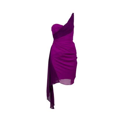 Authentic Second Hand Badgley Mischka One Shoulder Dress (PSS-567-00019)