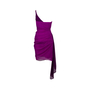 Authentic Second Hand Badgley Mischka One Shoulder Dress (PSS-567-00019) - Thumbnail 1