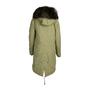 Authentic Second Hand Mr & Mrs Italy Fur Trim Parka Coat (PSS-220-00035) - Thumbnail 1