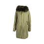 Authentic Second Hand Mr & Mrs Italy Fur Trim Parka Coat (PSS-220-00035) - Thumbnail 0
