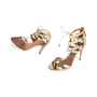 Authentic Second Hand Aquazzura Beverly Hills Lace up Sandal (PSS-097-00530) - Thumbnail 4