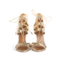Authentic Second Hand Aquazzura Beverly Hills Lace up Sandal (PSS-097-00530) - Thumbnail 0