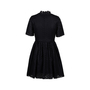 Authentic Second Hand MSGM Laser Cut Pattern Flared Dress (PSS-088-00078) - Thumbnail 1