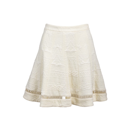 Authentic Second Hand Rebecca Taylor Textured Flare Skirt (PSS-088-00080)